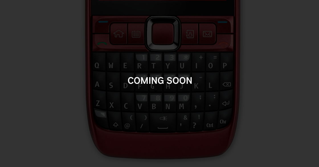 Mobile UI typeface COMING SOON